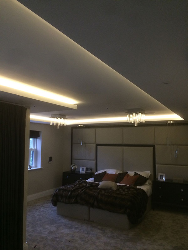coffer lighting. We Carry Out Work Including Coffer Lighting Details Which Sets Us Aside From Normal Drylining Companies As Can Create Or With Intricate Designs That